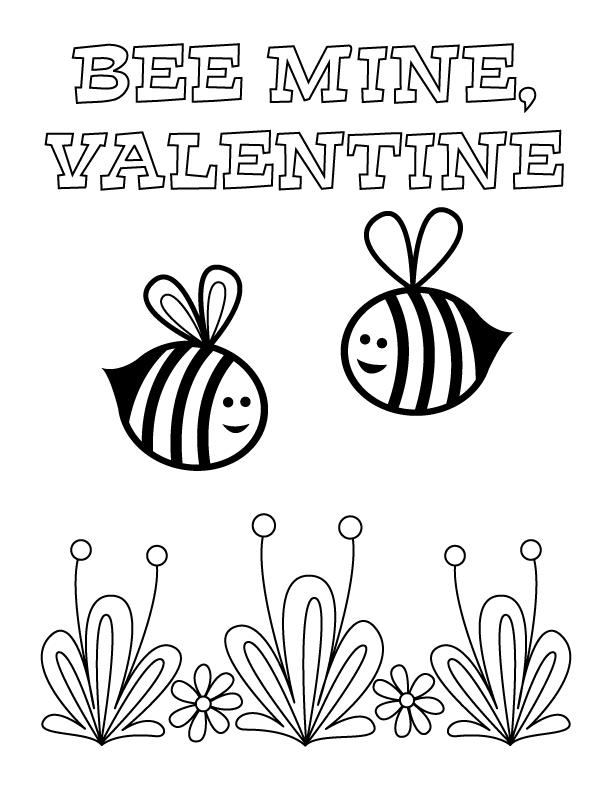 Будь моїм валентином - бджілки