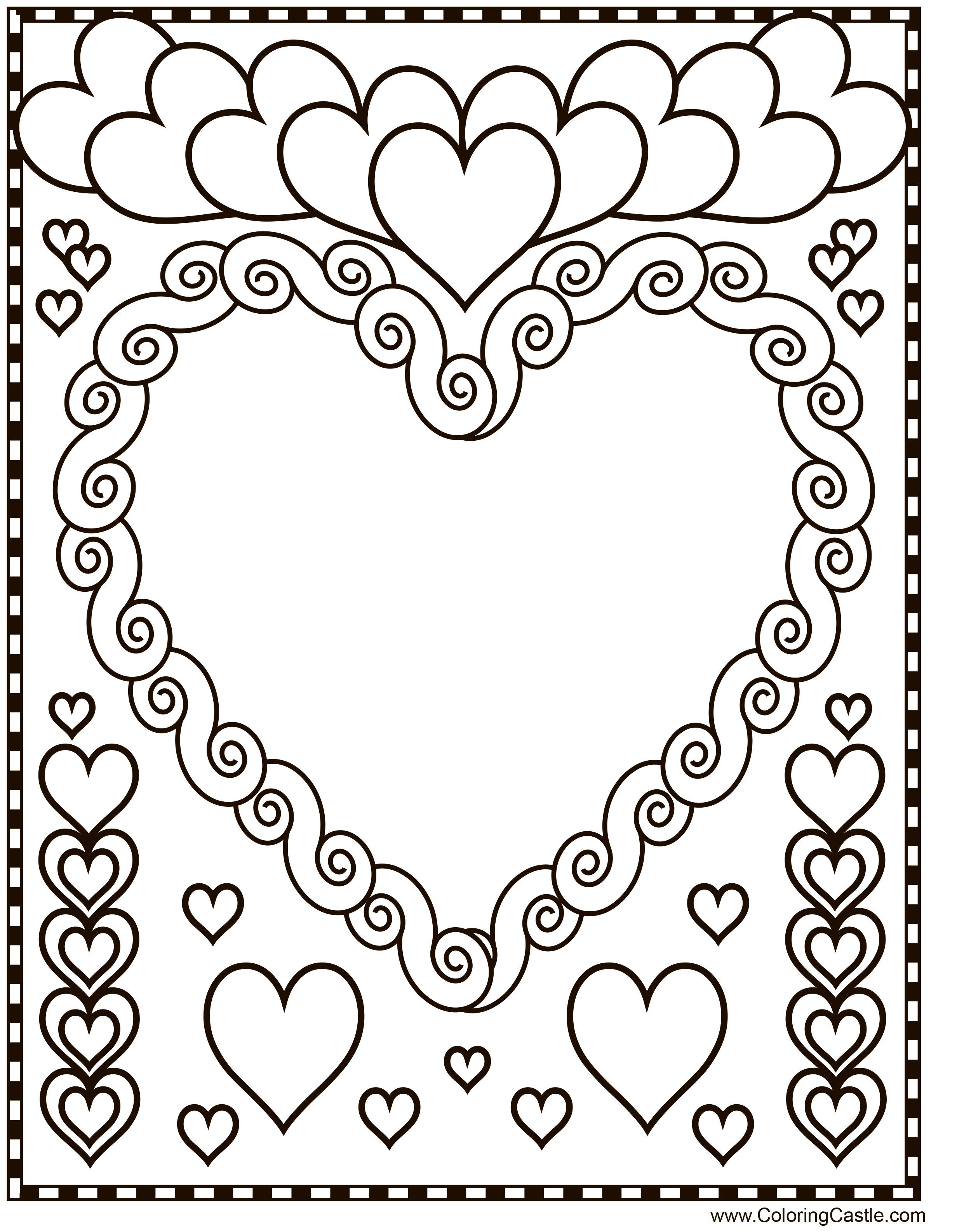 Валентинка-листівка