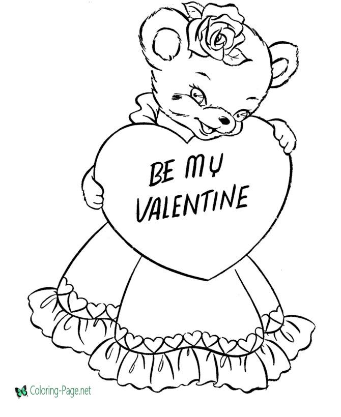 Симпатичний ведмедик із серцем