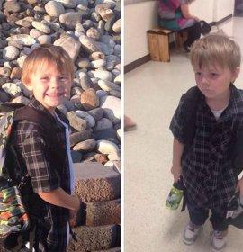 Діти до та після першого вересня