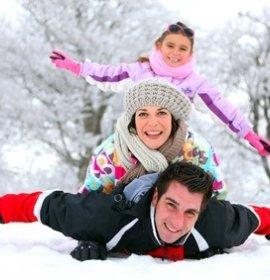 Як розважитися з дітьми взимку - вуличні ігри та забави