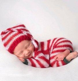 Різдвяні фото з немовлятами