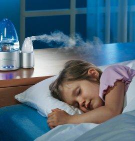 Чи потрібно взимку зволожувати повітря в дитячій кімнаті?