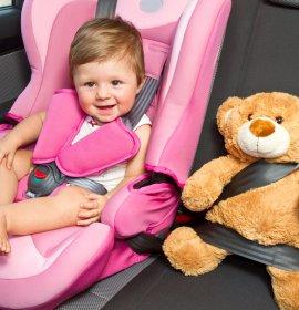 Правила перевезення дітей в автомобілях у Європі