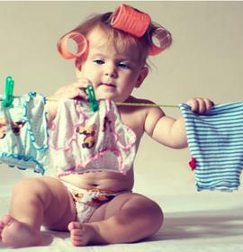 Перемо дитячий одяг правильно або вибір пральної машини
