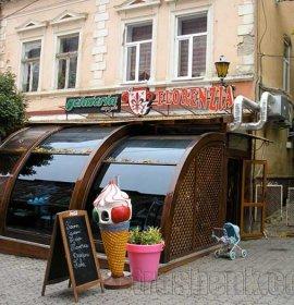 Флоренція, кафе-джелатерія