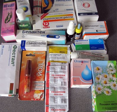 Аптечка для дитини в поїздку