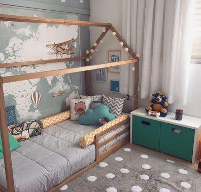 Дитяча кімната за системою Монтесорі