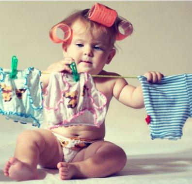 Прання дитячого одягу